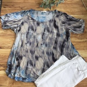 Rose + Olive women's cute shirt size 3X flows